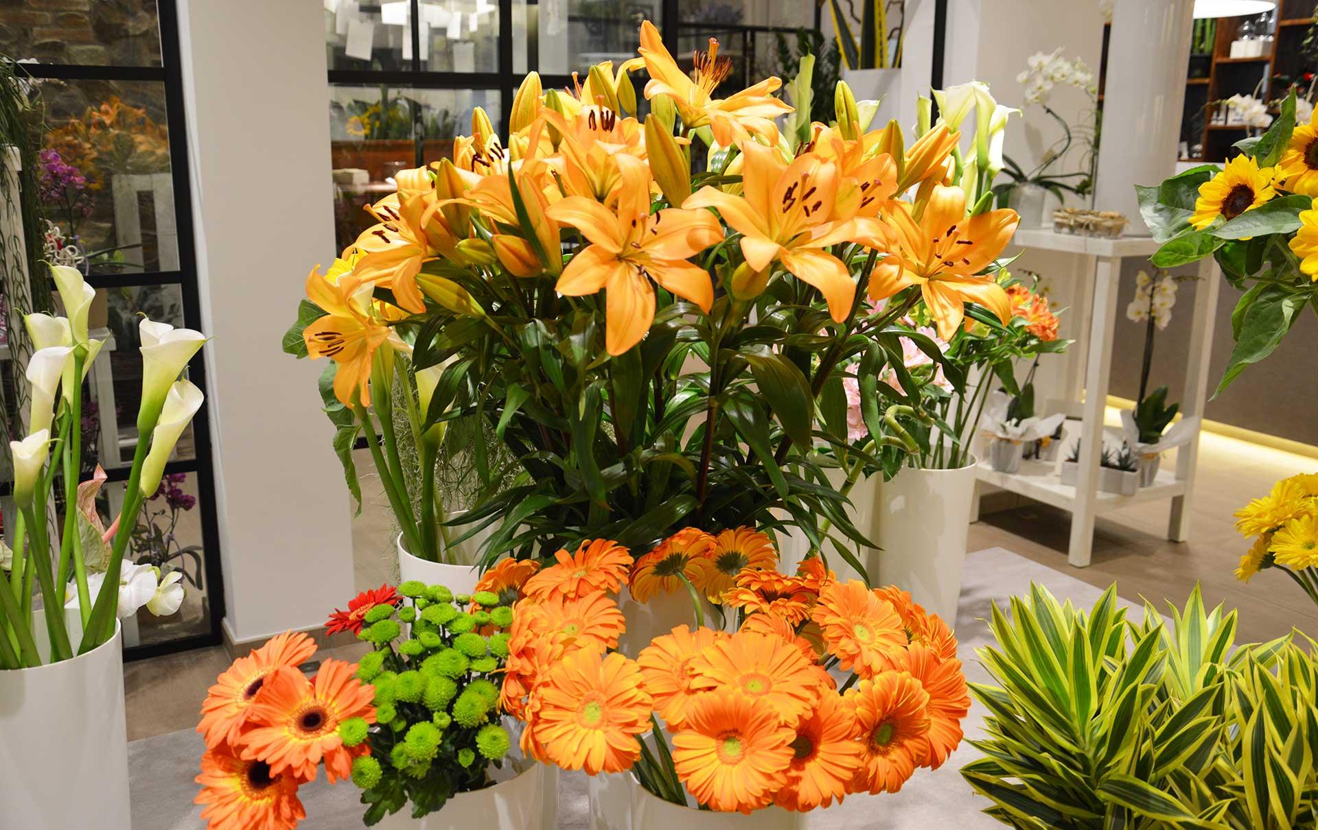 fiori fiori recisi composizioni floreali zubini